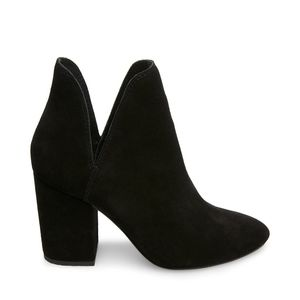 Steve Madden Rotary Black Ankle Boots